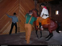 Photo by Bernie | Saint Joseph  museum, horses, riders