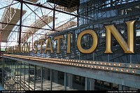 "Saint Louis Union Station, located downtown. It used to be a major rail road hub during the Gold Rush. Saint Louis was the last ""big"" city before the wild wide west. Now clearly a national landmark, as far as railroad art is concerned. Such a nice train station is simply amazing!"