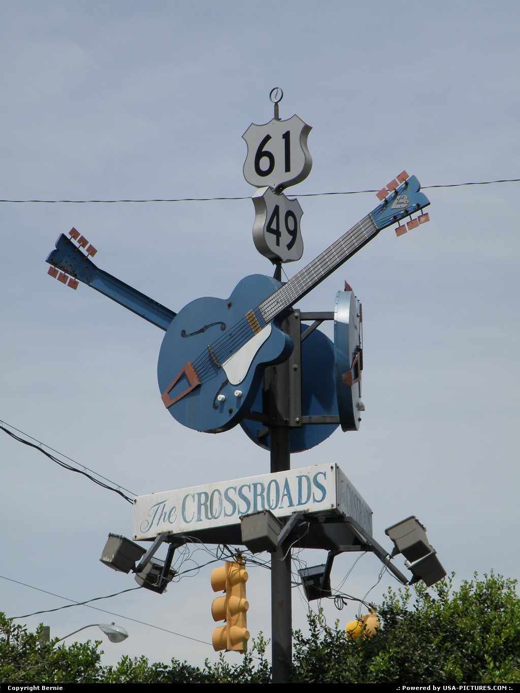 Picture by Bernie: Clarksdale Mississippi