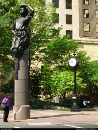 Photo by Bernie | Charlotte  statue, city