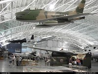 Nebraska, Exhibition hall at the Strategic Air And Space Museum near Omaha