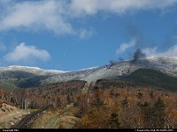 Mount Washington from the train base station