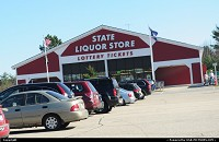 New-Hampshire, New hampshire state liquor store. do nt exept to find water here, just alcohol ...