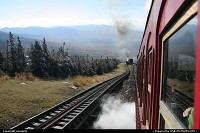 New-Hampshire, Mount washington, train