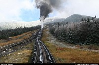 New-Hampshire, Mount washington, rail way