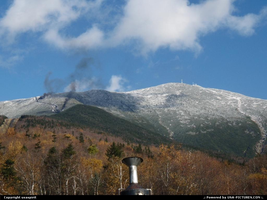 Picture by usaspirit: Not in a city New-Hampshire   Mount washington
