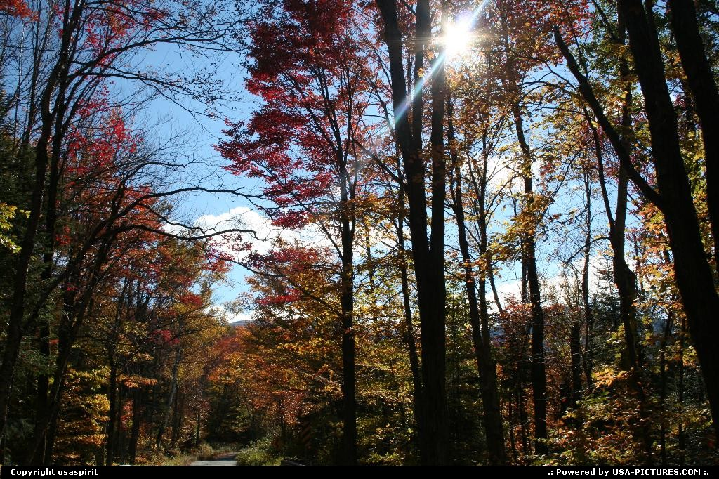 Picture by usaspirit: Not in a city New-Hampshire   Fall colors