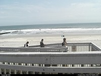 Atlantic City : The beach from boarderwalk