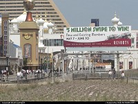 New-Jersey, The boardwalk in Atlantic City