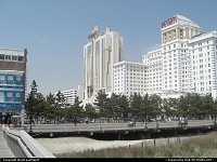 Atlantic City : The Trump Taj Mahal hotel and resort. Well, ...