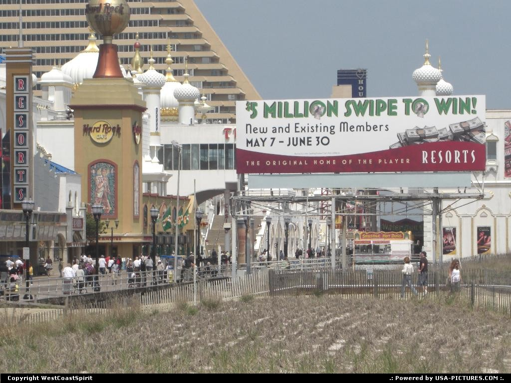 Picture by WestCoastSpirit: Atlantic City New-Jersey   resort, casino, gambling