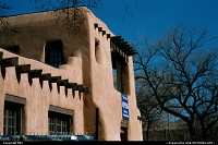 New-mexico, Santa Fe traditional building. Welcome to new Mexico!
