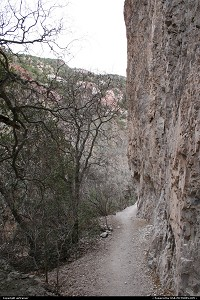 New-mexico, The Catwalk, near Glenwood