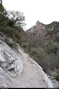 New-mexico, The catwalk, near Glenwood. A great walk if you're in the area.
