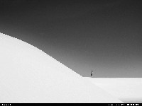 Not in a City : White sands