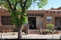 New-mexico, Santa Fe Capital of New Mexico, Santa Fe was founded in 1607. If means holy faith in spanish. It have a population of 67 947. It is the fourth city in New Mexico. Adobe style, the city attracts a lot of artists, settled down from '80s