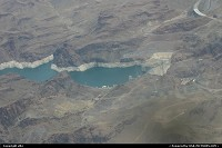 Lake Mead and the Hoover Dam, on the Colorado River