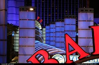 Photo by airtrainer | Hors de la ville  Las Vegas Casino Strip Bally's night