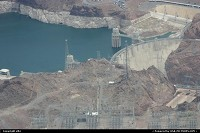Nevada, Hoover dam, contain the colorado river. It is located at the border between Arizona, and Nevada. Is was built in 1935. At this time it was the world's largest electric power generating station. It is currently the world's 35th-largest hydroelectric.