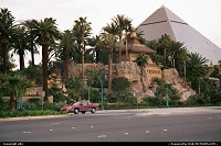 Hotel Casino Luxor, sur le strip
