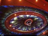 , Las Vegas, NV, O by cirque du soleil. roof of the teather