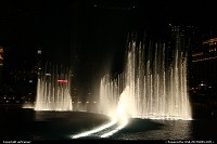The fountains of the Bellagio