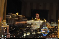 Las Vegas : hey your servant enjoying the spectacle, bellagio lights, water and music and B.......r ;-)
