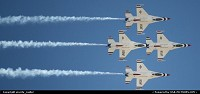 Thunderbirds over Nellis