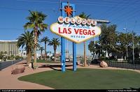 Las Vegas : Welcome to Famous Las Vegas. The iconic sign sign stands down the strip by the boundaries of the Airport.