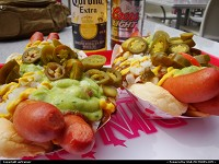 Pink's hot dogs, something you should try in Vegas !