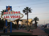 Maybe one of the most pictured place in the city, welcome to fabulous Las Vegas !