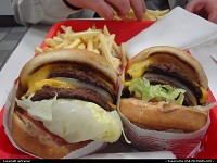 In and Out burgers, something you must try ! My personal favorite, with Jack in the box :)