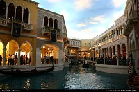 Las Vegas : The canal at The Venetian