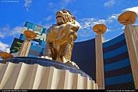 Photo by tiascapes | Las Vegas  MGM, Leo, Lion, casino, hotel