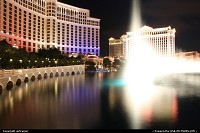 Photo by airtrainer | Las Vegas  las vegas, strip, bellagio, fountains, show