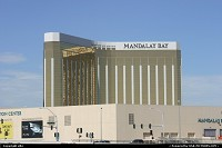 Entering Las Vegas, the mandalay Bay hotel