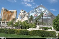 Photo by elki | Las Vegas  mandalay bay luxor