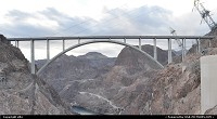 Not in a City : Amazing hoover dam bypass. This huge bridge was build in 5 years, and fit to the initial budget. A kind of performance because of the project and rough conditions. You can find, facts, step by step contruction etc ... go to http://www.hooverdambypass.org/