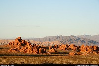 Valley of Fire State Park, a great alternative to the boring I-15, with some fantastic colors at sunset.