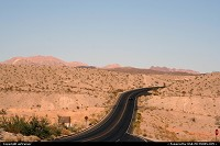 Not in a City : Northshore road, north of Lake Mead.