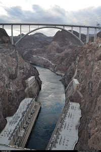 Photo by elki | Not in a City  hoover dam, bypass
