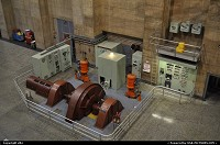 Not in a City : Generator at hoover dam. Electricity plant