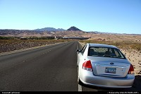 leaving Las Vegas, on the way to the Valley of Fire.