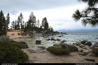 Not in a city : Sand Harbor beach at Lake Tahoe