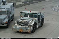 Reno : A very funny looking tractor/tug resting in the tarmac in Reno Airport. I found this one very relevant!