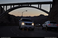 Photo by WestCoastSpirit | not in a city  hoover dam, boulder canyon, colorado, Mike O'Callaghan – Pat Tillman Memorial Bridge, I93, gmc, suv