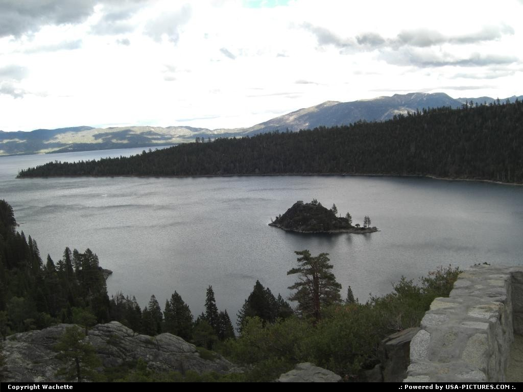 Picture by Wachette: Lake Tahoe Nevada   lake tahoe