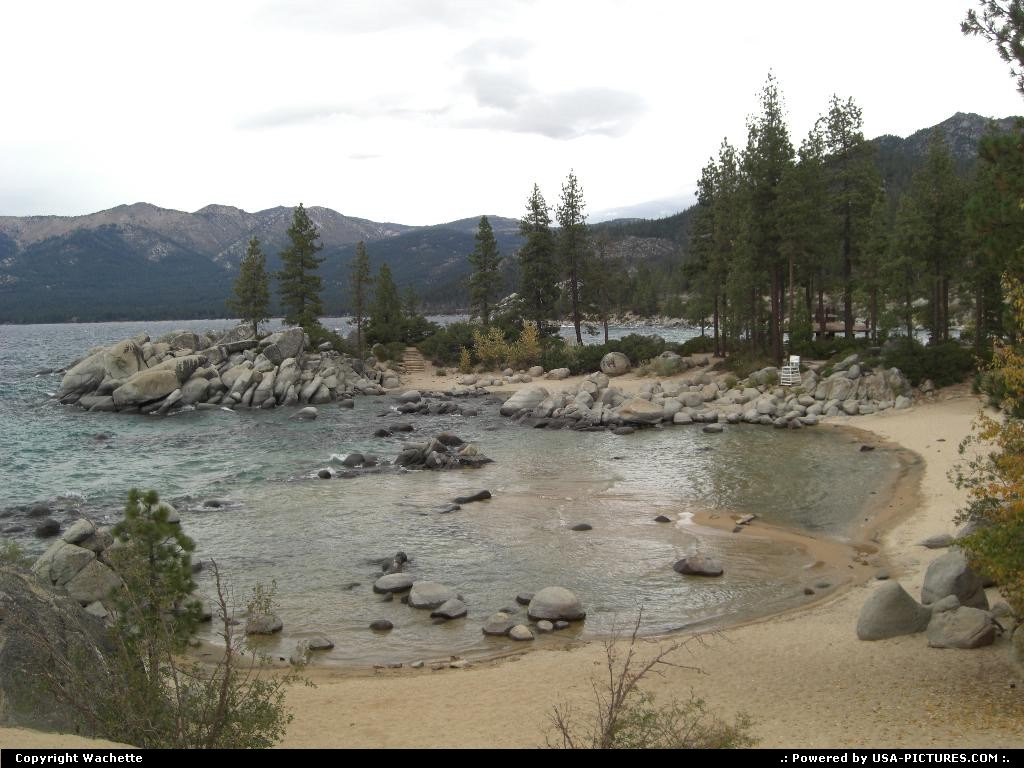 Picture by Wachette: Lake Tahoe Nevada