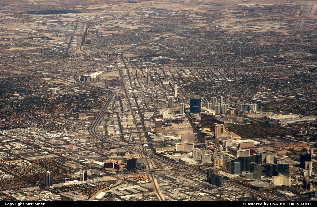 Picture by airtrainer: Las Vegas Nevada   las vegas, the strip