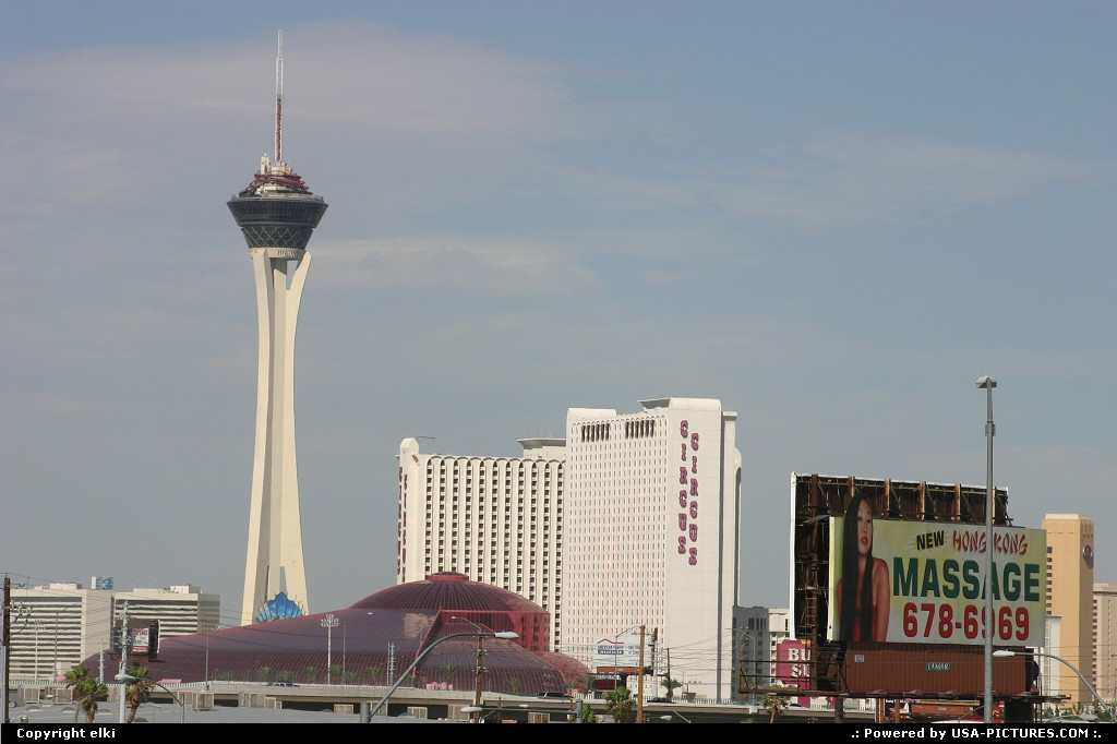Picture by elki: Las Vegas Nevada   stratosphere circus circus